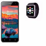 Combo Celular Smartphone Tmovi Shift Mas Smartwatch Baratos