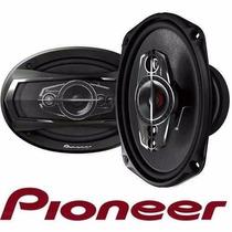 4 Pares D Auto Falante Pioneer 6x9 Ts-a 6995s 600w Original