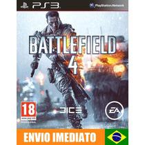 Battlefield 4 - Ps3 - Dublado Português Pt-br - Código Psn