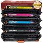1 Juego De 4 Pack Ce410x 305 X Color Toner Para Hp Laserjet
