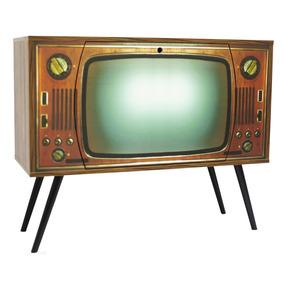 Armário Tv 1 Porta 0308 100% Mdf Phorman - Nogal