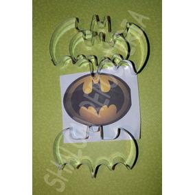 *kit 3 Cortadores Galleta Murcielago Batman Royal Fondant*