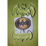 *kit 3 Cortadores Galleta Murcielago Batman Royal Fondant*