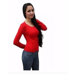 Blusa Termica Dama Cuello Redondo Lote De 3 Envio Gratis