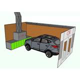 Cabine De Pintura Automotiva/industrial/moveleiro