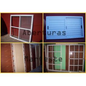 Ventanas De Aluminio, Puertas, Rajas, Etc Somos Fabricantes