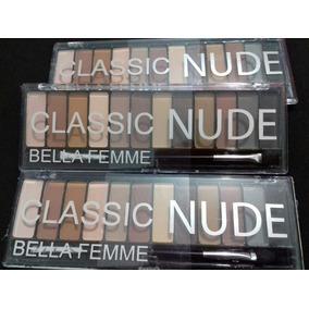 Paleta De Sombras Nude Opacas ( Sem Brilho)