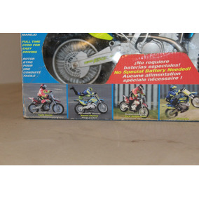 Motocicleta Radio Control, Muñeco Acrobacias
