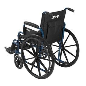 Silla De Ruedas Plegable-robusta-tercera Edad-discapacidad
