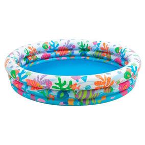 Pileta Inflable Intex Fishbowl Para Bebes 132 X 28 Hva