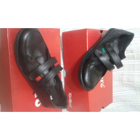 Zapatos Escolares Kickers Originales. Puro Cuero.