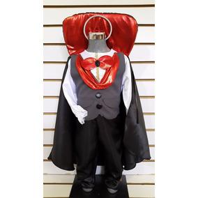 Disfraz Bebe 6/12 Meses Vampiro Conde Dracula Halloween