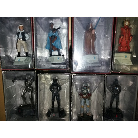 Colección Con 50 Piezas Star Wars Estatuillas Y Naves Metal