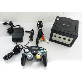 Game Cube Preto Chaveado - Nintendo