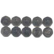 Monedas 10 Pesos Hidalgo 1976 A 1982
