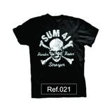 Camiseta Sum 41 Camisa Bandas Rock