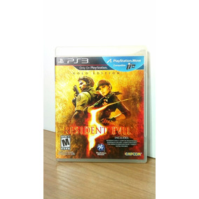 Resident Evil 5 Gold Edition Ps3 Seminovo