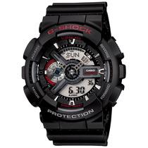 Relógio Casio G-shock Ga-110 1a Wr200 H.mundial 5 Alarmes
