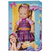 Boneca Carinha De Anjo Dulce Maria 41 Cm - Baby Brink