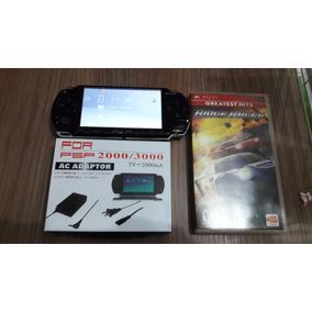 Psp Modelo 3000 Sony Travado Original Cartão 2 Gb