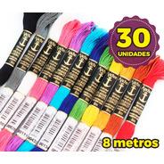 30 Linhas Meada P/ Bordar Anchor Mouliné - Escolha As Cores