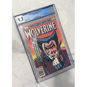Gibi Importado - Wolverine 1 - Set/82 - Cgc 9.2!