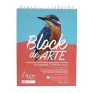 Bitácora De Arte Acuarela 300gr 21.5x28 Alpen