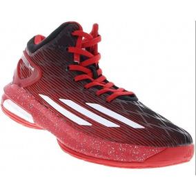 83a6bb8de6 Tenis Basquete adidas Crazylight Boost - Vermelho E Preto