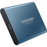 Samsung 500gb T5 Portable Solid-state Drive Azul Ssd