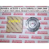 Bomba Aceite Caja Toyota Corolla 2000 2008 Original Toyota