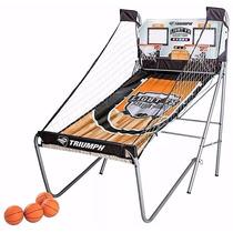Juego Tablero Electronico Doble Canasta Basketball Triumph