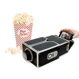 Diy Mini Proyector Cine Cardboard Carton Smartphone Android