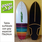 Tabla De Surfskate Greengo 7 Capas Con Grip 3 Modelos