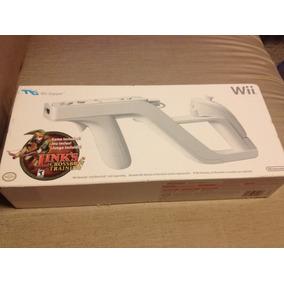 Wii Zapper (nintendo Wii) Lacrado + Jogo Link