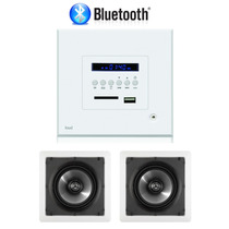 Kit Amplificador De Parede Loud Bluetooth + 1 Par De Caixas