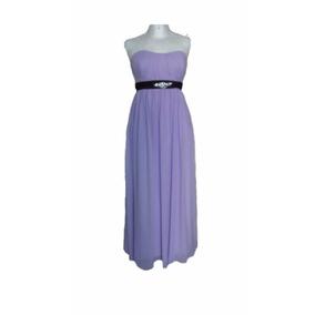 Lilasori Vestido De Fiesta Importado Color Lila Talla 11