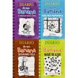 Diario De Um Banana Volumes Do 5 Ao 8 - Jeff Kenney