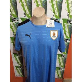 Jersey Puma Seleccion Nacional De Uruguay 2016 100%original