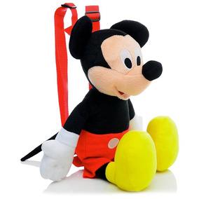 Mochiila De Pelucia Infantil Mickey Ruz Brasil