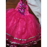 Disfraz Princesa Fuscia Y Rosado Talle 6 $ 380