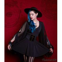 Vestido Salem Nugoth Dark Witch Ropa Gotica Monterrey