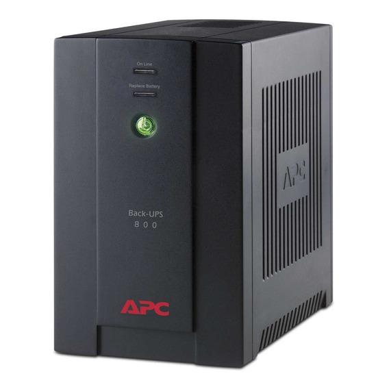 Ups Apc 800va 6 T Estabilizador Y Protector De Tension Gtia Oficial 2 A?os Bx800 Para Tv, Play, Equipos De Audio
