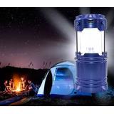 Luminária Solar Lampião Led Lanterna Recarregável Novo