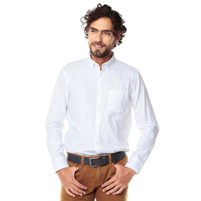Camisa Manga Larga Jones Para Hombre Color Siete