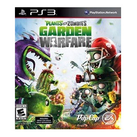 Ps3 Plants Vs Zombies Garden Warfare Play3 Em Portugues
