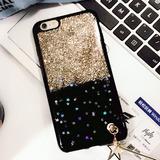 Para Iphone 7 Brillo Polvo Cobertura Completa Colgante