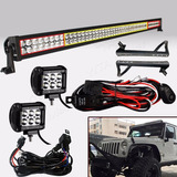 Jeep 07-17 Wrangler Barra 52 + Duallys 4 + Bases + Cables