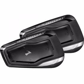 Intercomunicador Capacete Moto Scala Rider Freecom 4 - Par