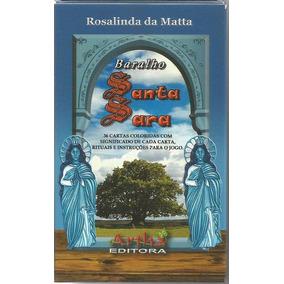 Baralho Santa Sara - 36 Cartas - Cartomancia - Produto Novo!