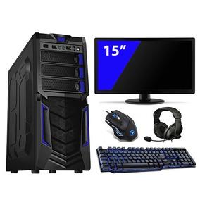 Pc Gamer Intel 4gb Hd 500 Gtx650 Monitor 15 Kitgamer